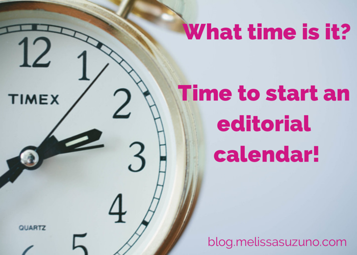 Editorial Calendar Basics for Lazy People, Part 1